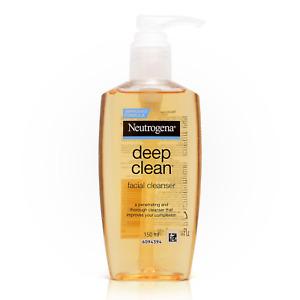 150ml. Neutrogena Deep Clean Facial Liquid Cleanser Wash Soft & Fresh Moisture
