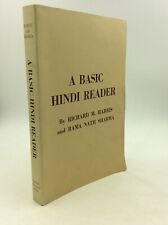 A BASIC HINDI READER by Harris & Sharma - 1983 - Literature - Language study