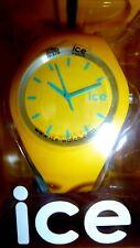 bnib/new boxed genuine unisex yellow/blue ICE WATCH wristwatch