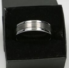 Plain Tungsten Band Ring 18.6 Grams Size 14