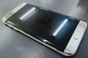 Samsung Galaxy S7 Edge Smart Phone - Google locked - Crack in Screen
