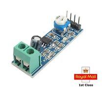 Lm386 Amplificador De Audio módulo 200 veces 5v-12v entrada 10k Resistencia Variable Nuevo