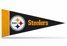 "NEW NFL Pittsburgh Steelers Mini Pennant  9""x4""(22 x 9 1/2 cm)  Made in USA Flag"