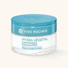 YVES ROCHER HYDRA VEGETAL Moisturizing Protective Cream SPF20 50 ml 99462 LAST!