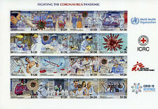 More details for liberia medical stamps 2020 mnh corona pandemic fight science health 16v ms
