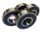 4 Pcs 6204 2RS RS Premium Ball Bearings 20 x 47 x 14 ABEC 3 C3