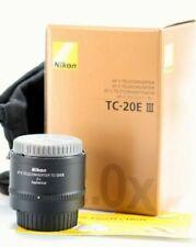 Nikon NIKKOR AF-S TC-20E 2X 35mm III Lens (TC-20E III) Mint!!!