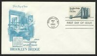 #2041 20c Brooklyn Bridge, Artmaster FDC **ANY 4=FREE SHIPPING**