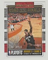 2018-19 Hoops ROAD TO THE FINALS FIRST ROUND PLAYOFFS #38 CLINT CAPELA 859/2018
