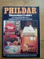 PHILDAR DECORATION ET LOISIRS N°2 MODE VINTAGE ANNEES 70