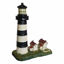 Aquarium Lighthouse Decoration Fish Tropical Reptile Ornament Underwater Tank