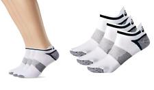 New Asics Socks 3 pairs/ sport  ped socks/ white/ 3PPK LYTE SOCK unisex training