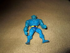 "1994 MARVEL X-MEN STEEL MUTANTS DIE-CAST METAL 2.5-3"" BEAST MINI FIGURE TOY BIZ"