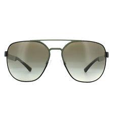 Sunglasses Emporio Armani Ea2064 3225/8e 62 Matte Black Olive Green