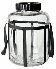 Wide Mouth Glass Carboy Perfect for Beer and Wine Making - 7 Gallon
