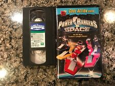 Power Rangers In Space Vhs!