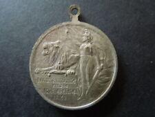 J2385  BELGIUM   WW 1  1914 MOBILISATIE SILVERED  LENGTH  3,2 CM