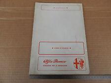 MANUALE ORIGINALE 1972 ALFA ROMEO MONTREAL SEZIONE CAMBIO                   RIF3