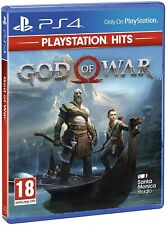 VIDEOGIOCO GOD OF WAR PS4 ITALIANO SONY PLAYSTATION 4 GIOCO PAL NUOVO SIGILLATO