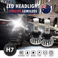 PHILIP H7 144W 14400Lm LED Car Headlights Conversion Globes Bulbs Beam Kit 6000K