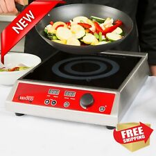 Commercial Countertop Induction Range / Cooker - 120V, 1800W