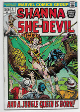 SHANNA THE SHE-DEVIL 1 FIRST APPEARANCE ORIGIN FIRST ISSUE