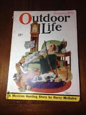 Outdoor Life January 1932 ,Advertsing,Hunting,Wildlife,Guns