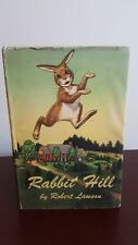 Rabbit Hill by Robert Lawson (1st Edition)