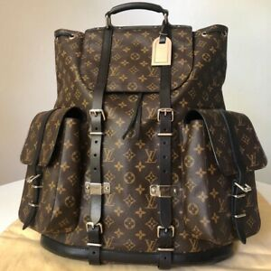 RARE AUTHENTIC Louis Vuitton Christopher Backpack Monogram RUNWAY 04. Limited