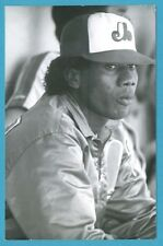 Pascual Perez (1987) Montreal Expos Vintage Baseball Postcard PP01133