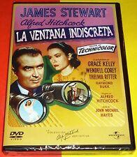 LA VENTANA INDISCRETA / REAR WINDOW Alfred Hitchcock DVD R2 - Precintada