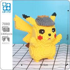 Boyu Detective Pikachu Pokemon Pocket Monster Mini Diamond Blocks Building Toy