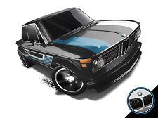 Hot Wheels Cars - BMW 2002 Black