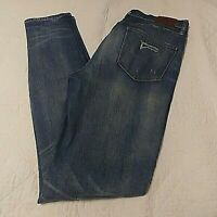 Madewell Jeans Women's 32 Skinny Skinny Light Blue Distressed Stretch Denim