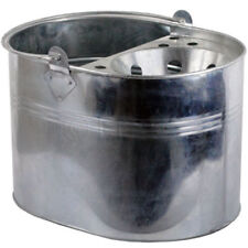GALVANISED MOP BUCKET CLEANING STRONG HOME WITH HANDLE INDOOR/OUTDOOR CHEAP