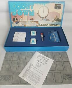 Countdown Board Game By Spear's Game Vintage 1993 New Sealed TV Game MS 51498