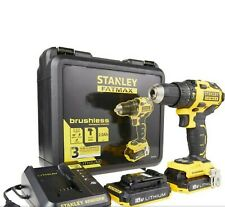 Stanley 18V brushless hammer drill with case RRP Over £200