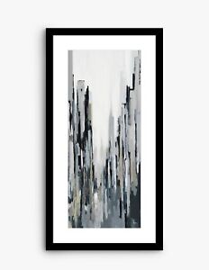 JOHN LEWIS Gregory Lang - City Centre II Framed Print & Mount, 84.5 x 44.5cm,