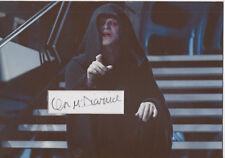 IAN McDIARMID Signed 12x8 Photo Display STAR WARS THE EMPEROR COA