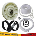 W10721967 Washer Pulley Clutch Kit & W10006384 Washer Drive Belt,for Whirlpool photo