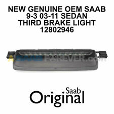 SAAB 9-3 Third Brake Light Assembly NEW GENUINE OEM 9-3 03-11 4DR SEDAN 12802946