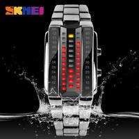 SKMEI Couple Lover Fashion Men Women Watch Waterproof Sport Digital Wristwatches
