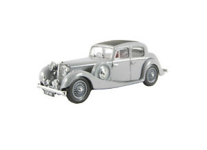 Jaguar SS Saloon in Lavender Grey (1:43 scale by Oxford Diecast JSS004)