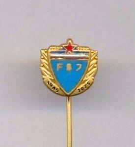 Yugoslavia ~ FOOTBALL FEDERATION 1945-1975 ~ Commemorative  Bertoni-Milano  RARE