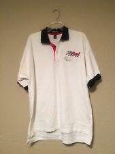 Vintage Bud Championship NHRA Drag Racing Jonathan Corey Size XL Polo Shirt