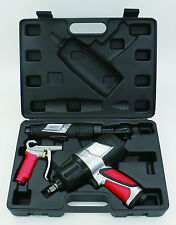 "EXELAIR 3-Piece Professional Air Tool Kit,1/2"" Impact,3/8"" Ratchet, BG,EX0303KIT"