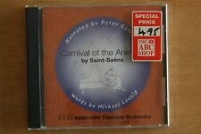 Carnival of The Animals by Saint- Saens - Narrated by Peter Garret    (Box C568)