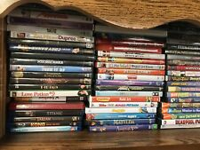 Wholesale Lot of [200] DVD Movies: Action,Children,Comedy,more Fast Ship