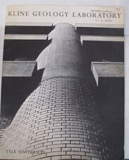 Yale Kline Geology Lab Rocks Paleontology New Haven 1963 Dedication Research