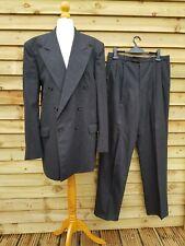 """YVES SAINT LAURENT YSL vintage Suit XL wool cashmere grey trousers 34"""" jacket 42"""
